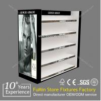 2013 hot sale acrylic cosmetic display showcase Manufactures