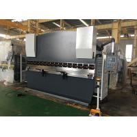Double Guided Ram Hydraulic NC Press Brake Machine With Safety Light Curtain Manufactures