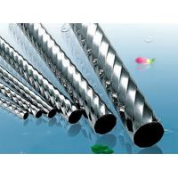 201 / 202 Polished stainless steel pipe welding For Fluid ASTM A249 Manufactures