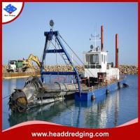 China high performance cutter suction dredger mud, sand dredging machine supply on sale