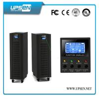 LCD Digital Display Shows Detailed Real-Time UPS Status and Parameters. High Frequency Online 10-30kVA UPS Manufactures