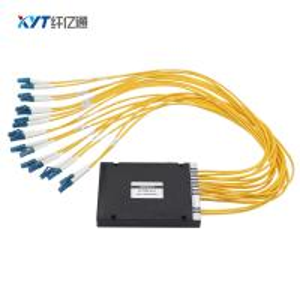 ABS Box Single Fiber 8 Channel MUX DEMUX DWDM C Band C21-C28 For Bandwidth Networking Manufactures