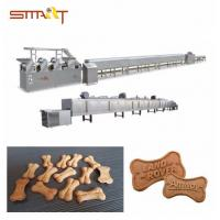 Energy - Saving Dog Biscuit Making Machine / Pet Food Processing Line Manufactures