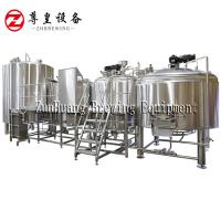 500L 1000L 1500L Commercial Beer Brewing Equipment Stainless Steel In Silver Manufactures