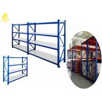 Stackable Warehouse Heavy Duty Steel Racks For Garage Customized Size Manufactures