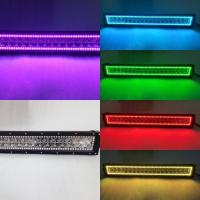 Hot Sales HkL36W RGB Car Fog Light Bar CE Changeable Color Auto LED Lightbars Manufactures