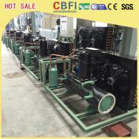 Easy Operation Low Temperature Chiller / Air Cooled Chiller For Ice Making Machine Manufactures