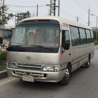 Japan made used Toyota Coaster coach bus second hand mini 30 passengers bus for sale for sale
