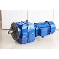 Double Shaft Inline Helical Gear Reducer With High Torque , Flange Mounted Manufactures