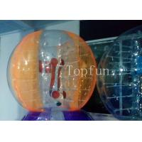 EN14960 Colorful Inflatable Soccer Bubble With Best Plato , 1.0mm PVC Manufactures