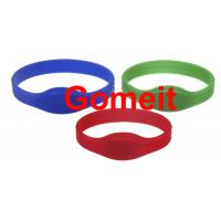 Entry Rfid Wristband Access Control For Events , Entrance Rfid Chip Bracelet Long Service Life