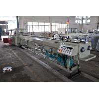 High Output PVC Double Pipe Plastic Extrusion Equipment / Pipe Extruder Machine Manufactures