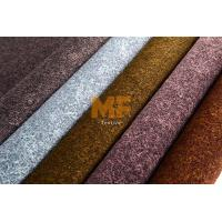 Bright Upholstery Printed Velboa Fabric For Jewelry Box / Gift Box 320 - 350 Gsm Manufactures
