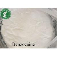 High Purity Local Anesthetic Drugs Powder Benzocaine With Safe Delivery Manufactures