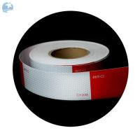"""High Intensity DOT Reflective Tape , Red And White Reflective Tape For Trucks Trailers 6"""" Manufactures"""