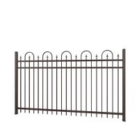 Carbon Expanded Steel Cast Iron Fence Classical Power Coated Used For Road Manufactures