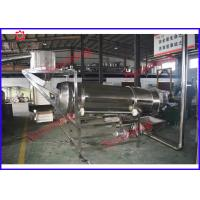 Large Capacity Double Screw Extruder Machine , Instant Rice / Wheat Processing Machine Manufactures