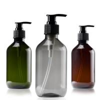China Empty 500ml Eco Friendly Shampoo Bottles , Spray Cap Biodegradable Shampoo Bottles on sale