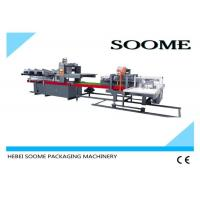 Industrial Multifunction Corrugated Paper Making Machine , Auto Carton Box Packaging Machine