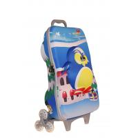 China Funny Rolling Kids Hard Case Luggage For School / Travel / Trip NHL002 on sale