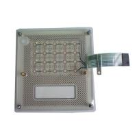 LED Membrane Switch Panel , Tactile Dome And Backlit Keypad
