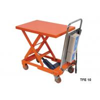 China Portable Electric Pallet Lift Table With Integral Lifting Pump Structure on sale