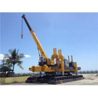 Rotary Hydraulic Piling Machine Fast Piling Speed 500T Piling Capacity Manufactures