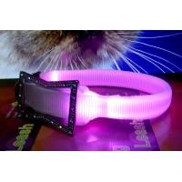 2012 Latest Custom Woven Twin LED Flashing Large Dog Harness Manufactures