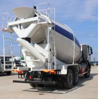 HOWO Concrete Mixing Truck Equipment High Speed 8m3/9m3/ 336hp Mix Truck Manufactures