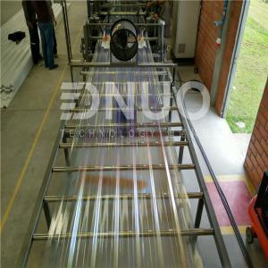 Intelligent  Automatic FRP GRP fiberglass lighting sheet making machine Manufactures