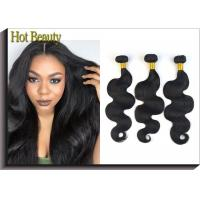 12 Inch Brazilian Virgin Human Hair Bundles Body Wave For Every Beauty Tangle Free Manufactures