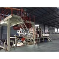Bitumen Backed Carpet Tiles Production Line Contious With Slitting Cutter Manufactures