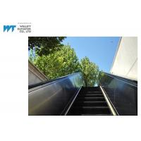 PLC Drive Outdoor Escalator Safety Hot Dipped Galvanized Truss Black Handrail Manufactures