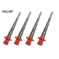 5 Stage Telescopic Hydraulic Ram Single Acting for Dump Truck / Trailer Manufactures