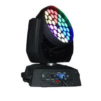 36 X 15W LED Stage Lighting Moving Head With Ringcontrol RGBWA Silent Fan Stage Lights Manufactures