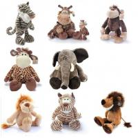 Lovely Forest Toys Jungle Animal Stuffed Plush Toys For Promotion Gifts Manufactures
