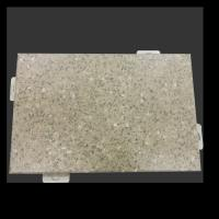 ASTM D3363 B117 Aluminum Veneer Panel With Marble Granite Texture Light Weight High Rigidity Manufactures