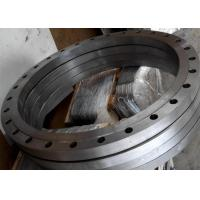 Hot rolled wind power tower flat flange and pipe line flange Manufactures
