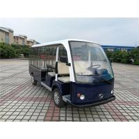 High Performance Electric Luggage Cart For Tourist Resorts 4 Seaters + 2 Rows Manufactures