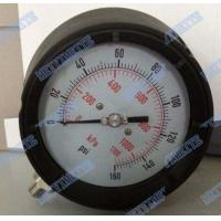 4.5 Inch Solid Front Pressure Gauge With Stainless Steel Internals / Connector Manufactures