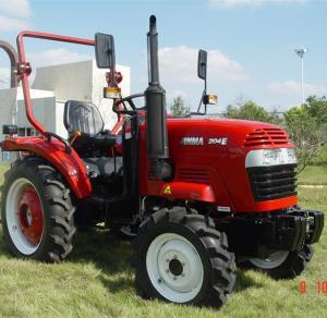 20hp agricultural 4wd wheel tractor jinma JM204E eec/epa certified diesel farm tractor