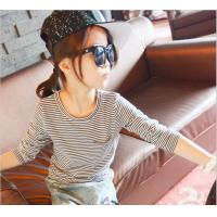 Quality Angou Top quality kids clothes girls t shirt children's clothing spring autumn soft cotton for sale
