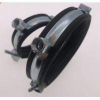 Steel Unistrut Beam Clamps With EPDM Or Without , Full Size Electrical Beam Clamps Manufactures