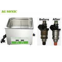 Fuel Injector Ultrasonic Cleaner for ALL Injectors Cleaning 15L 3-5min Fast Cleaning Manufactures