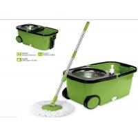 Plastic Powerful Cleaning 360 Rotating Mop , Clean Spin 360 Microfiber Mop Manufactures