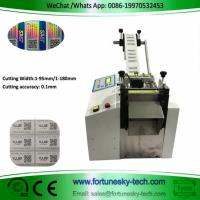 Electronic eye cutting machine, mobile phone membrane flat film cutting machine, QR code label slicer Manufactures