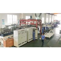 China 4 Roller Cast Film Extrusion Line Waterproof Roll Twin Screw Extruder Machine on sale
