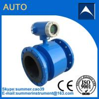 Electromagnetic flow meter used in diary efflent with resonable price Manufactures