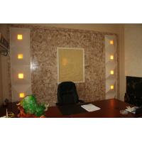 Sound-absorptive Onyx Stone Wall For Villa , Office , Hotel Manufactures