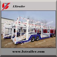 China 2 double axles 16meters 8 units transporting SUV car carrier semi trailer wholesale